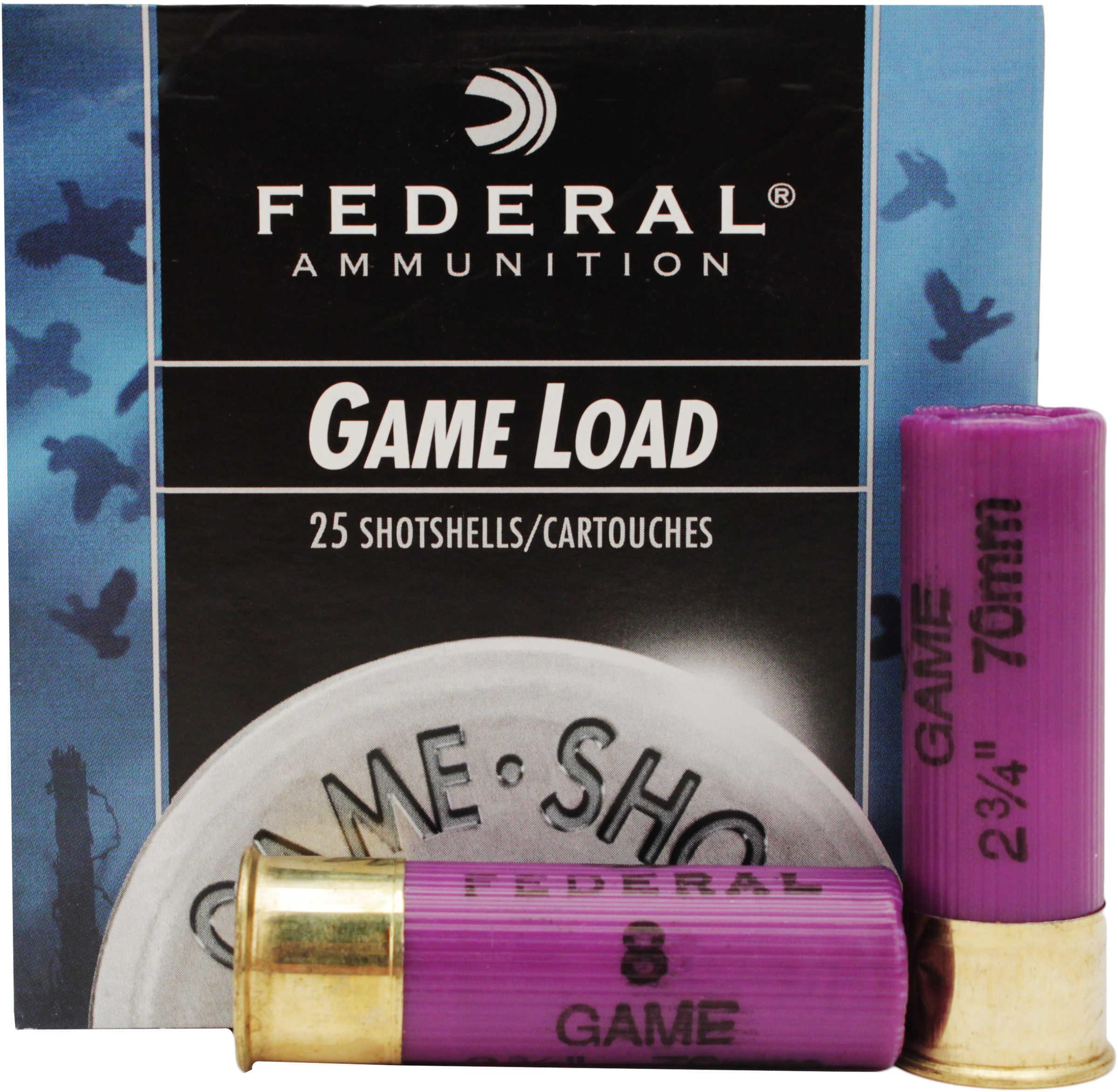 """Federal 16 Gauge Shot shells Game Load 2 3/4"""" 2 1/2 Dram 1Oz 8 Shot Ammunition Md: H1608"""