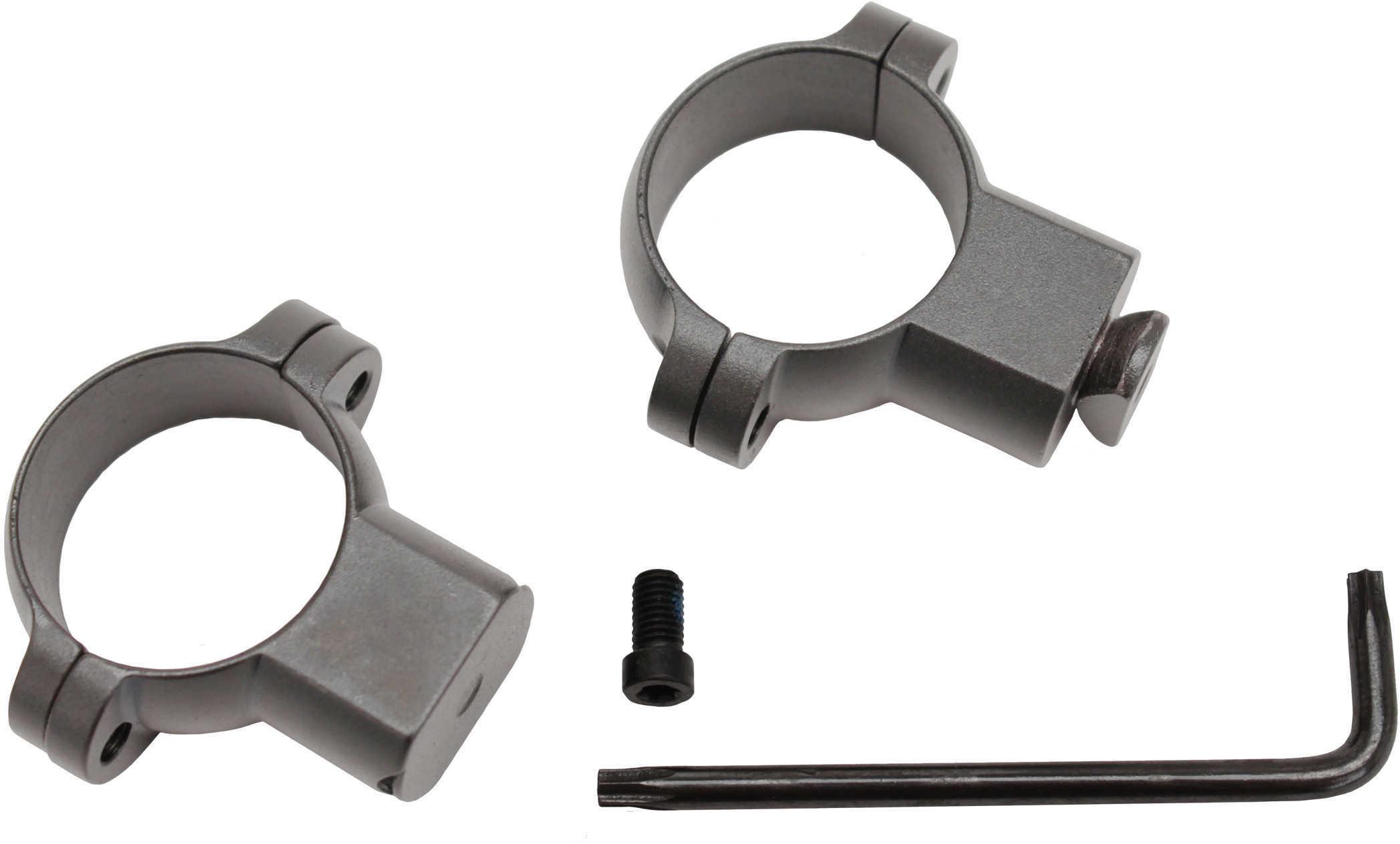 "Leupold Standard 1"" Rings High Silver Md: 49905"