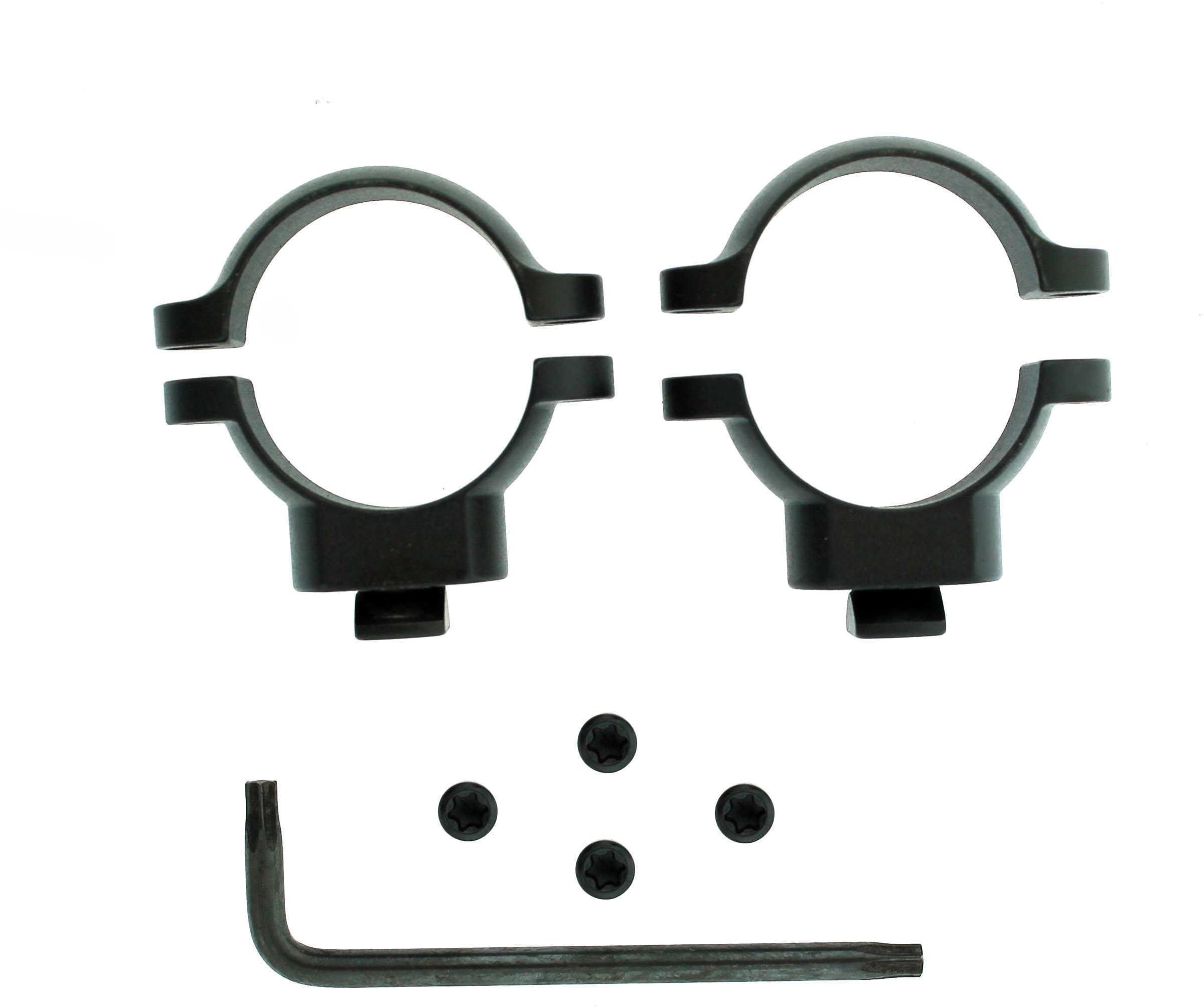 """Leupold Dual Dovetail 1"""" Rings Medium, Matte Black Md: 49916"""