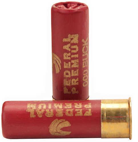 "Federal 12 Gauge Premium Buckshot Loads 3"" Mag Dram 10 Pellets 000 Buck Per 5 Ammunition Md: P15800"