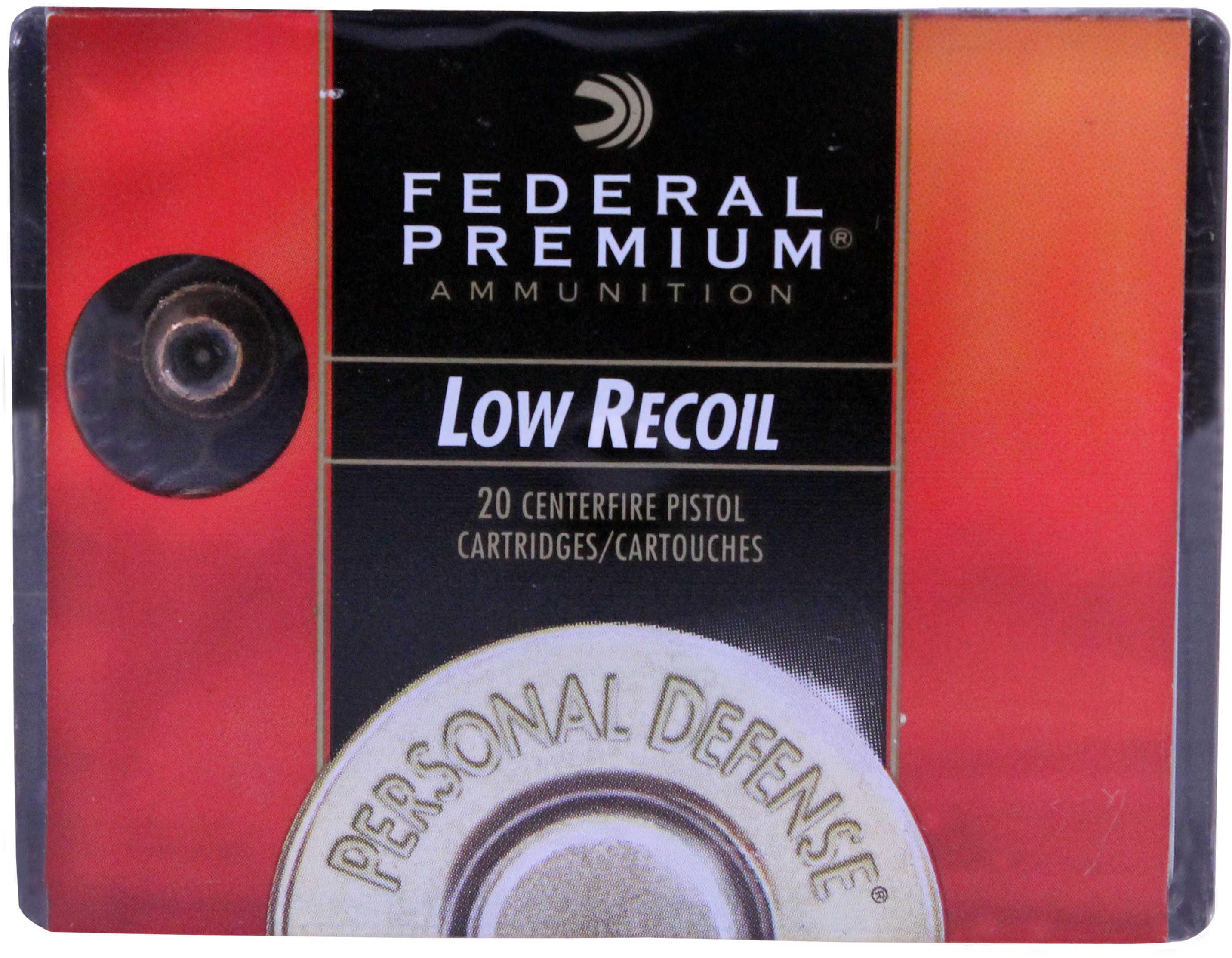 Federal 380 Automatic 380 Auto 90 Grain JHP Per 20 Ammunition Md: Pd380Hs1H