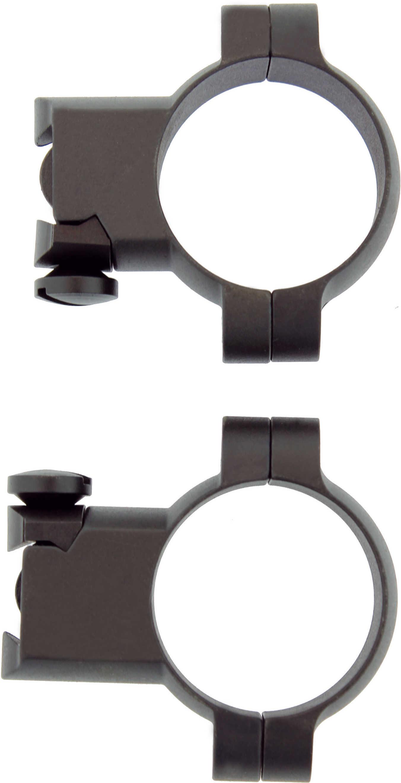 Leupold Ruger® M77 Ring Mounts 30mm Super High Matte Black Md: 51043