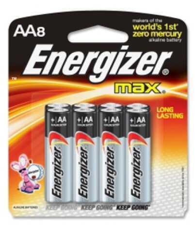 EnergizerPremium Max Batteries AA (Per 8) Md: E91MP-8