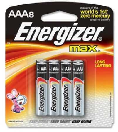 EnergizerPremium Max Batteries AAA (Per 8) Md: E92MP-8