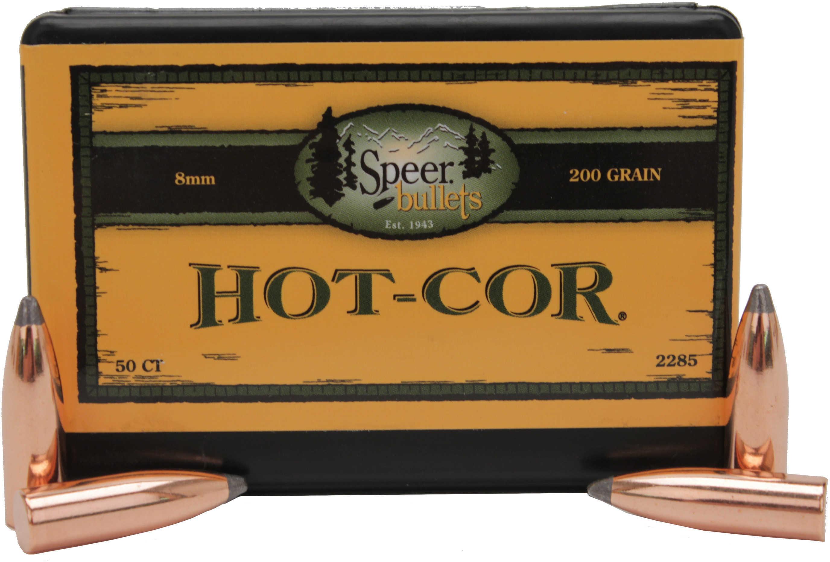 Speer 8mm 200 Grains Spitzer SP Per 50 Md: 2285 Bullets