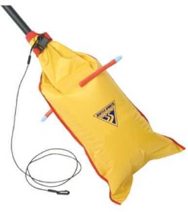 Seattle SportsDual-Chamber Paddle Float, Yellow Md: 013506
