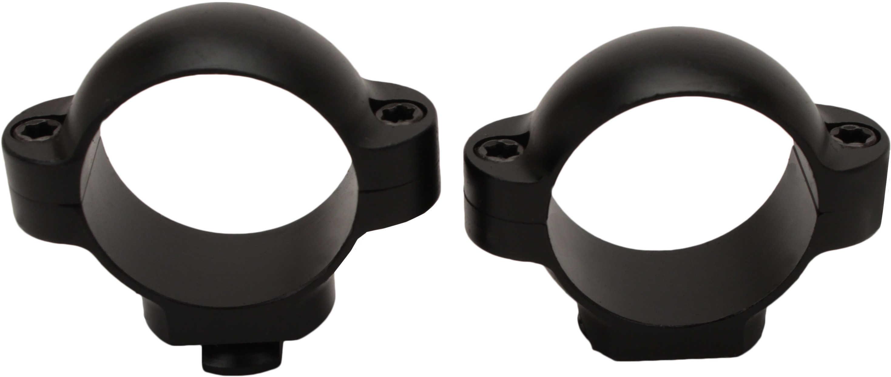 "Burris Standard 1"" Rings Low Black Matte Md: 420012"