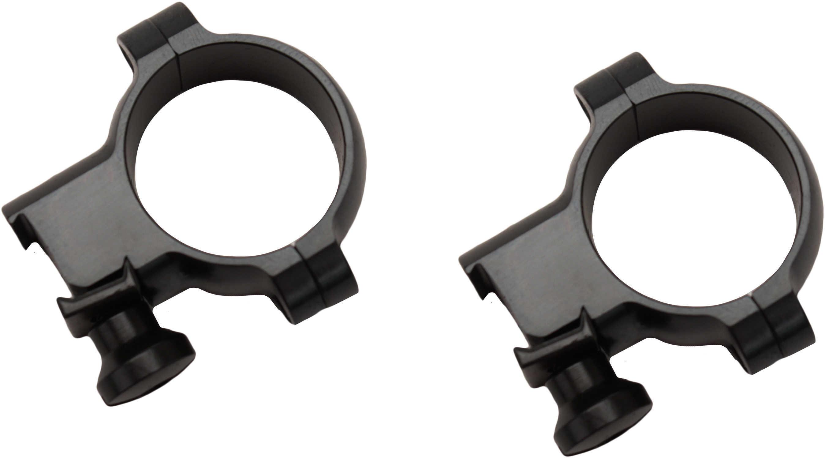 """Burris 1"""" 22 Rings Medium Deluxe Steel Black Gloss Md: 420072"""