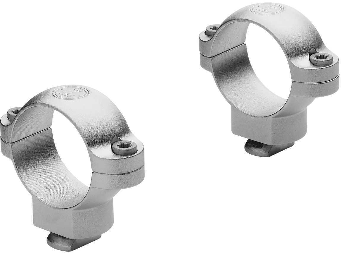 "Leupold Dual Dovetail 1"" Rings Medium, Silver Md: 52323"