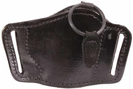 Bianchi 105 Minimalist Holster Plain Black, Size 13/15, Left Hand Md: 19503