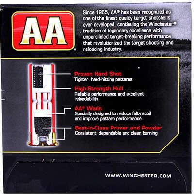 "AA Target Load Winchester 12 Gauge 2 3/4"" Xtra-Lite 1Oz 8 Shot Per 25 Ammunition Md: AAL128"
