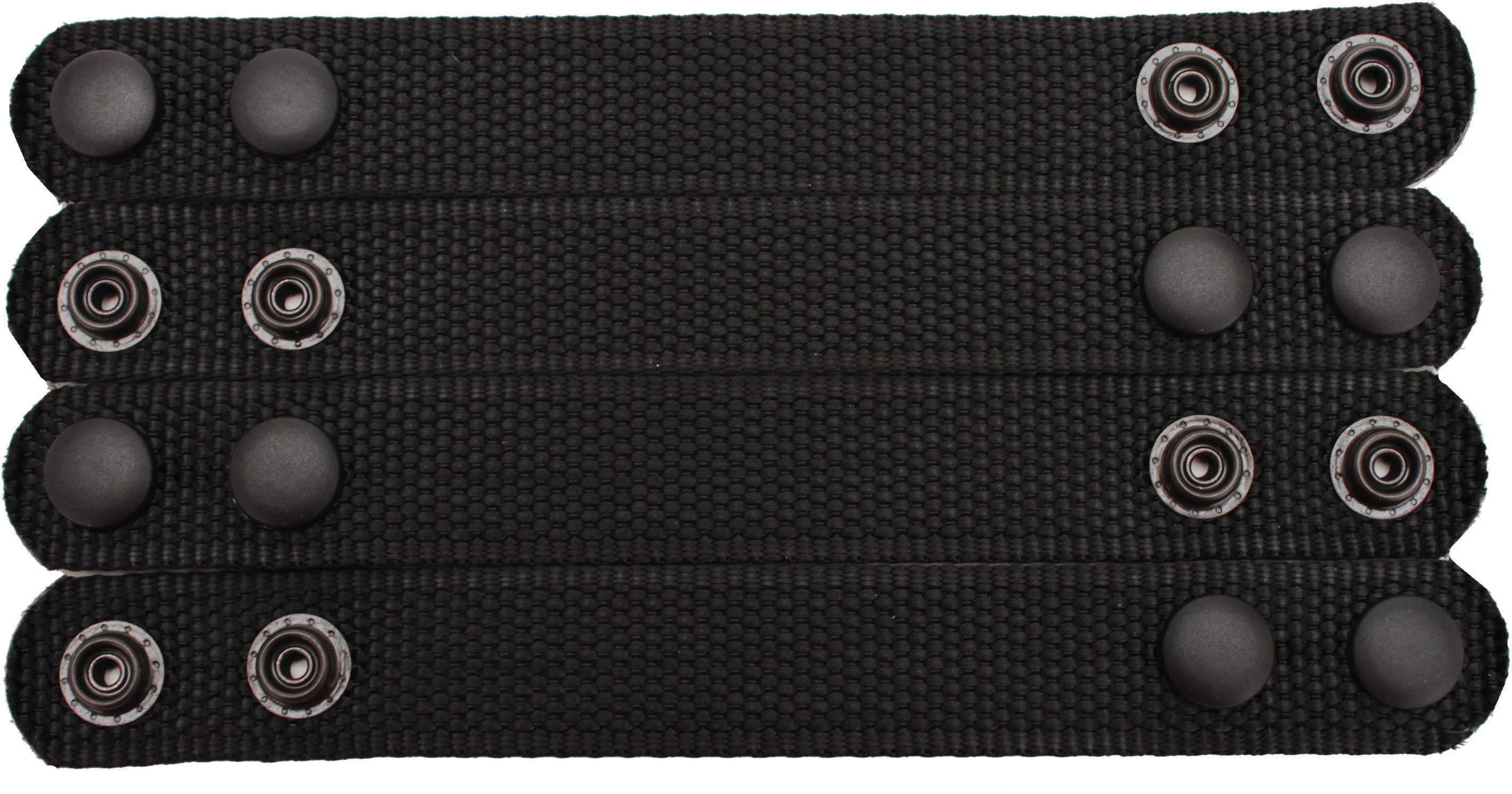 Bianchi 6406 Ranger Belt Keepers 4 Pack Black, Velcro Md: 15634