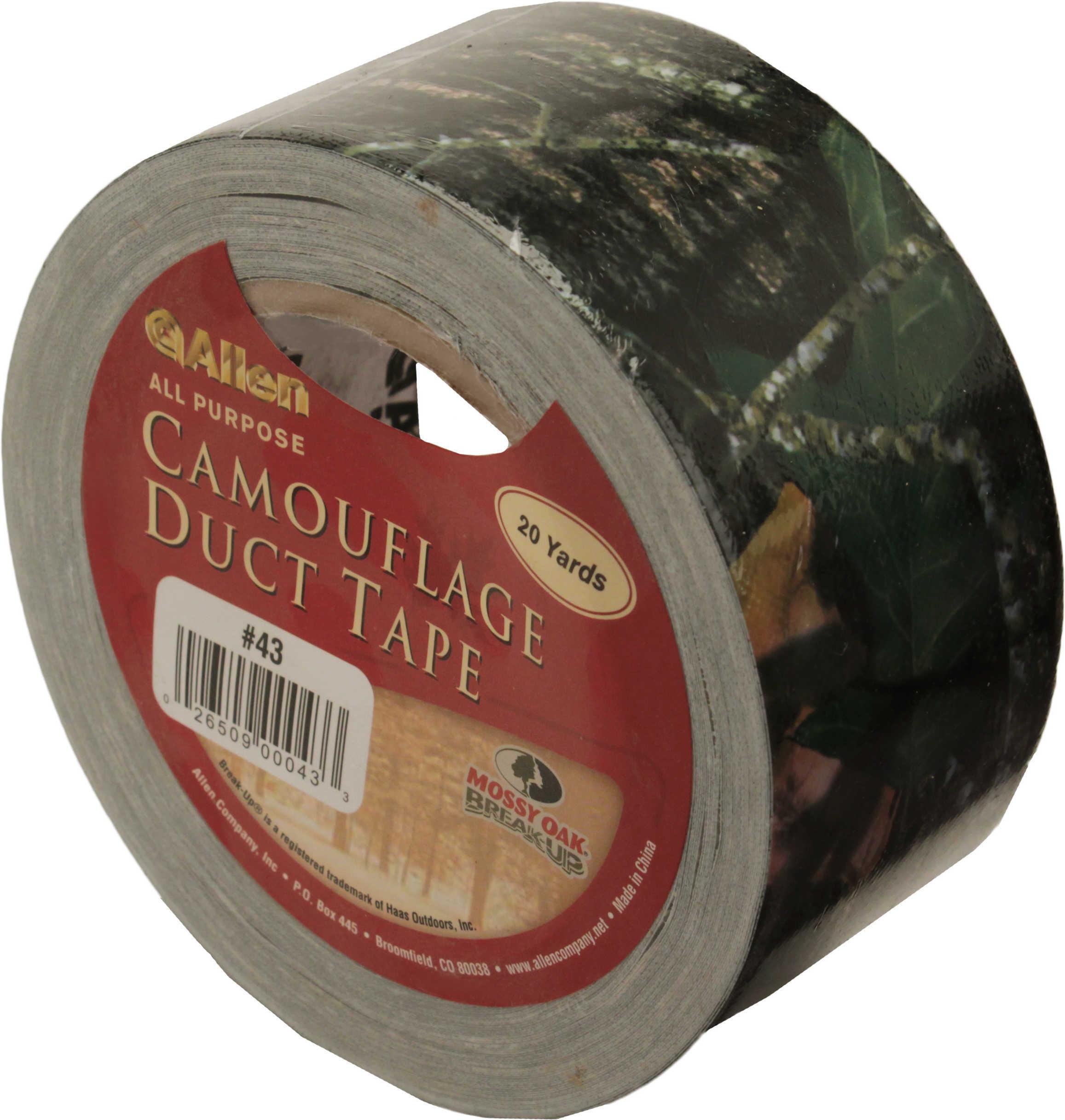 """Allen Mossy Oak Break Up Duct Tape Mossy Oak Break-Up Duct Tape 2"""" X 60' Md: 43"""