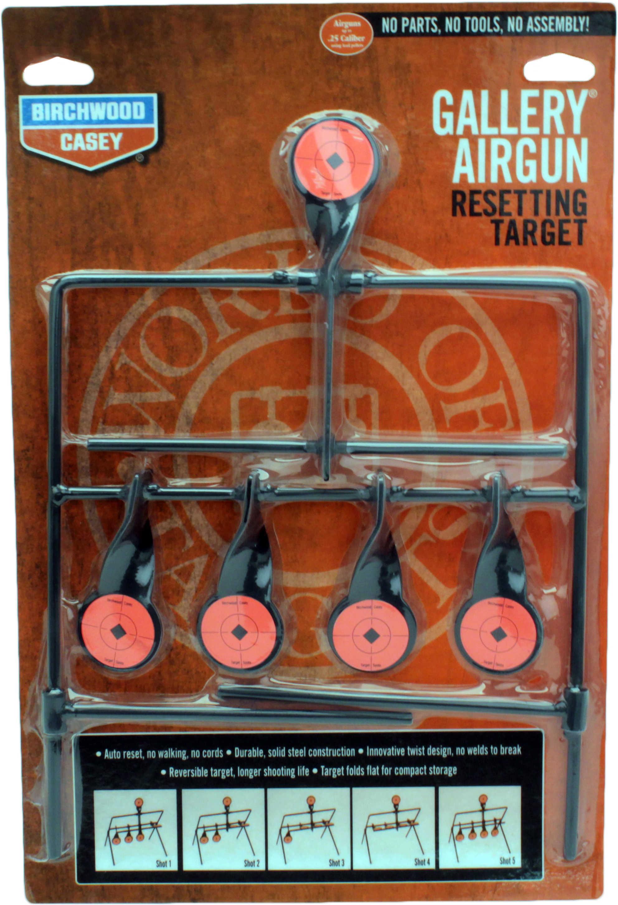 Birchwood Casey Gallery Resetting Target Gallery Air Gun Resetting Target Md: 47017