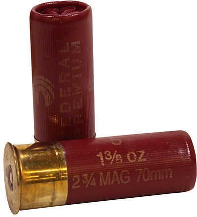 "Federal 12 Gauge Premium High Velocity Lead Shot shells 2 3/4"" Mag Dram 1 3/8Oz 4 Shot Ammunition"