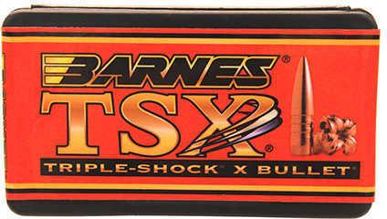 Barnes 6.5mm Caliber 130 Grain Triple Shok X Flat Base Per 50 Md: 26442 Bullets