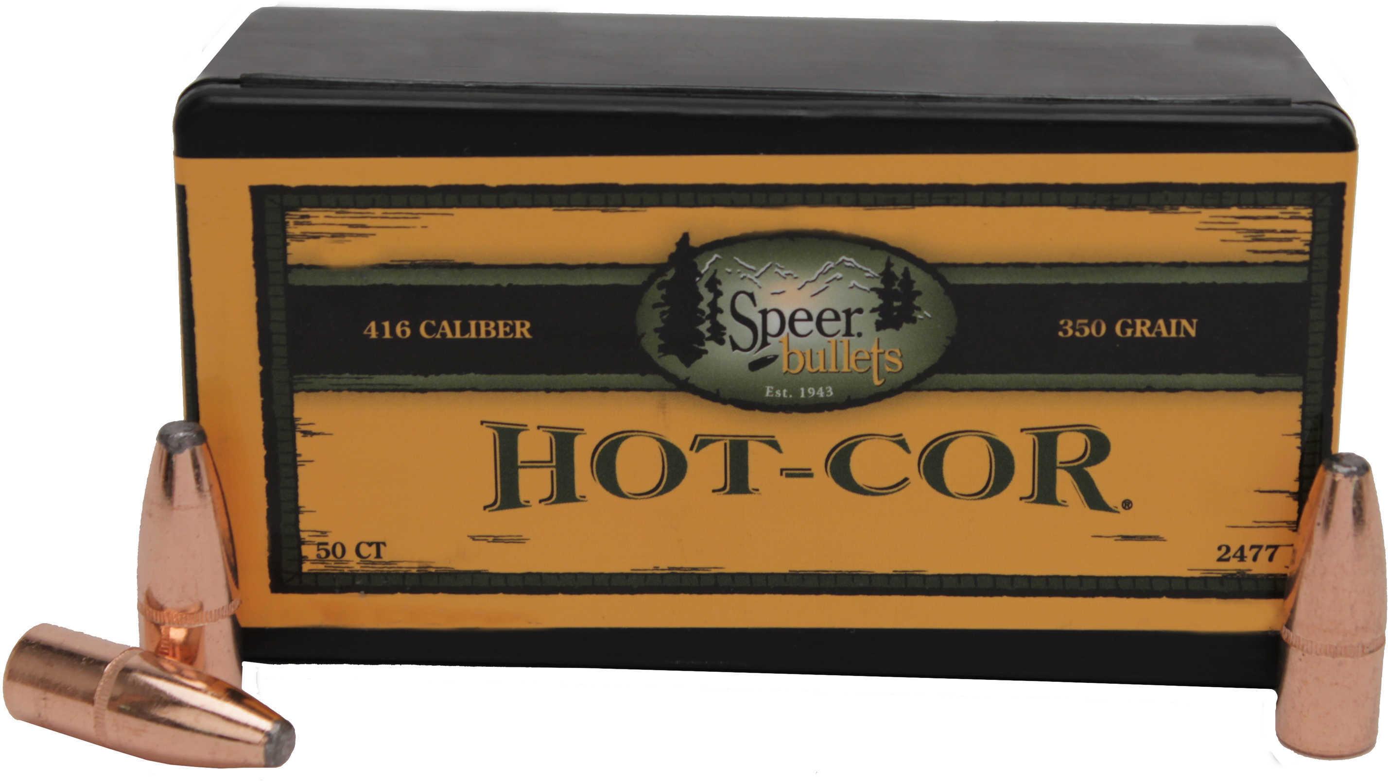 Speer 416 Caliber 350 Grains Mag Tip SP Per 50 Md: 2477 Bullets