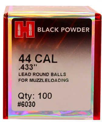 Hornady Lead Balls .433 44 Caliber Per 100 Md: 6030