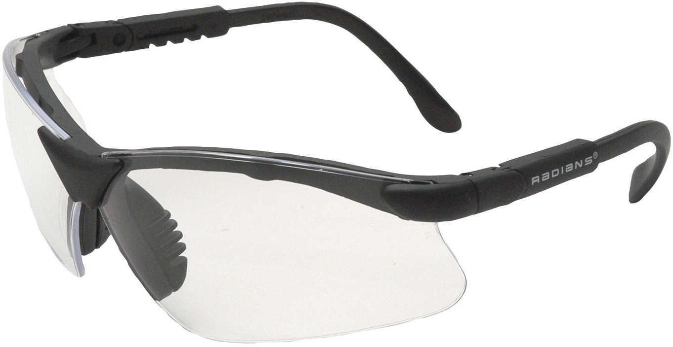 Radians Revelation Glasses Clear Lens, Black Frame Md: Rv0110Cs