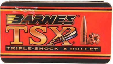 Barnes 6.5mm Caliber 120 Grain Triple Shok X Boat Tail Per 50 Md: 26441 Bullets