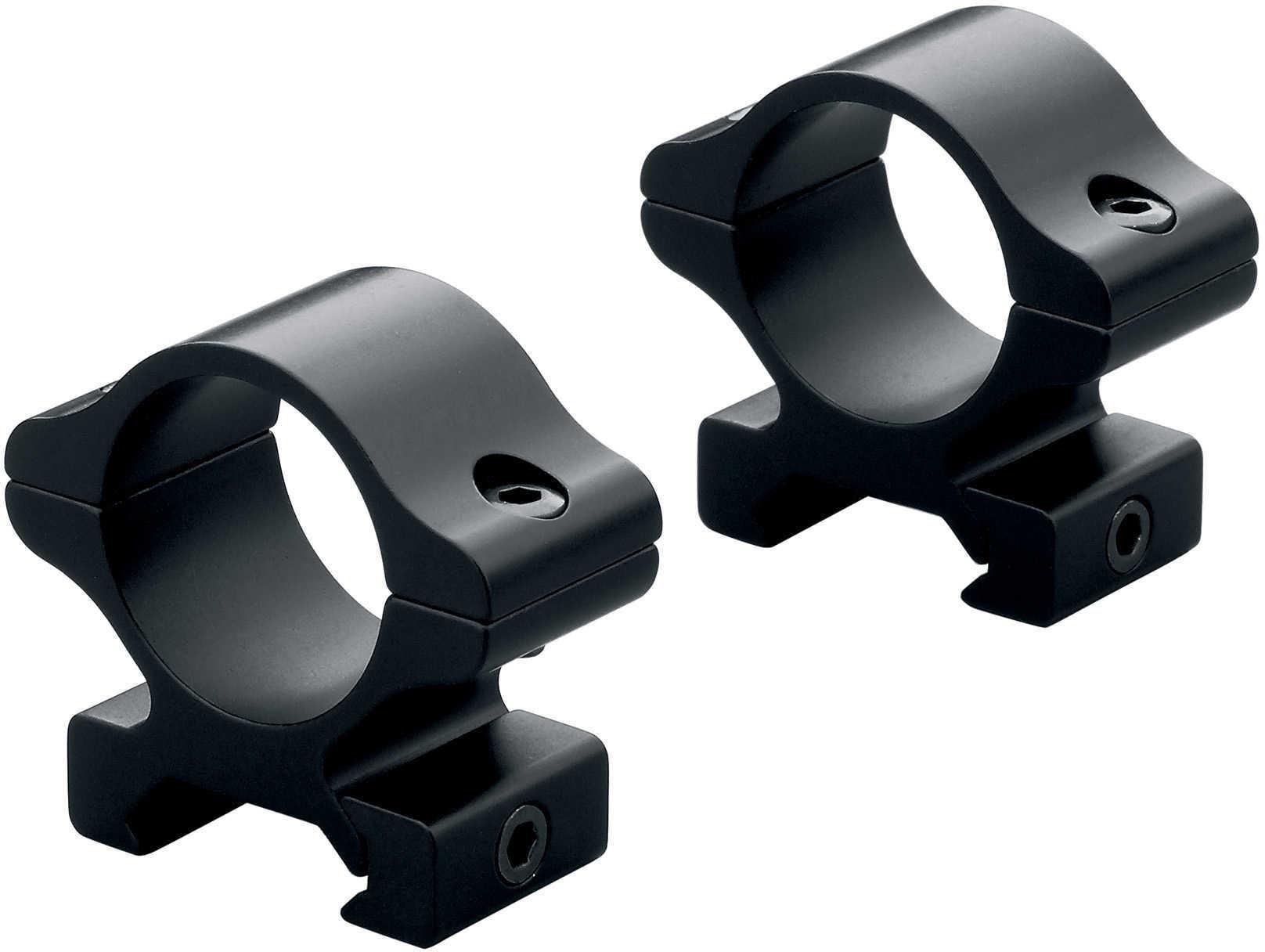 Leupold Rifleman Detachable Rings See Thru High Black Gloss Md: 57395