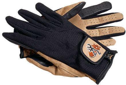 Browning Mesh Back Shooting Gloves Tan/Black, XXLarge Md: 3070118805