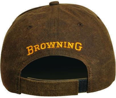 Browning Dura-Wax Cap 3-D Buckmark, Brown Md: 308412881