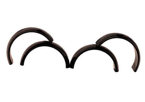 Burris 30mm Zee Rings Extra High Black Matte Md: 420585