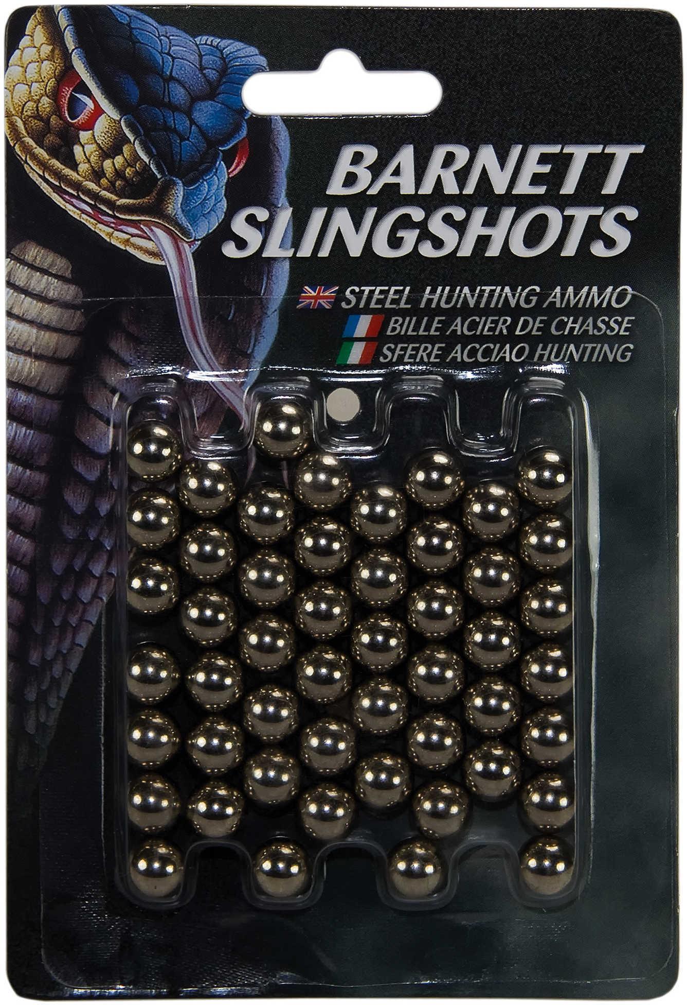 Barnett Slingshot Ammo, .38 Caliber Per 50 Md: 16087