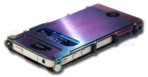 Columbia River iNoxCase- iPhone 4 & 4S Case Rainbow Md: INOX4R