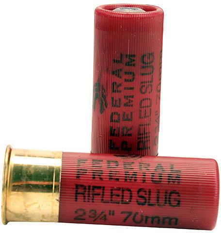 "Federal 12 Gauge Premium Vital-Shok Rifled Slugs 2 3/4"" Truball Hollow Point Per 5 Ammunition"