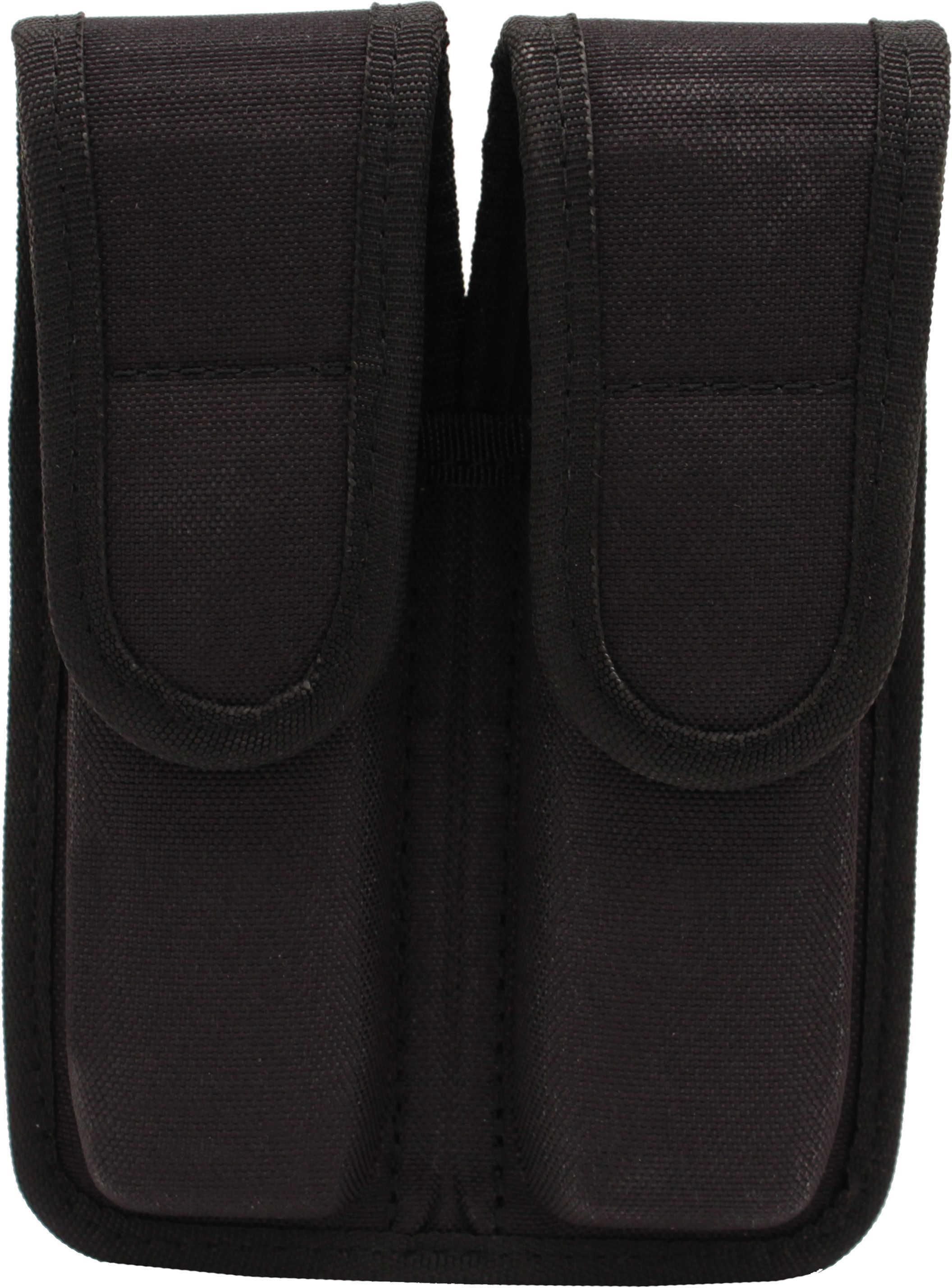 Bianchi 8002 Double Magazine Pouch Black, Size 01 Md: 31301