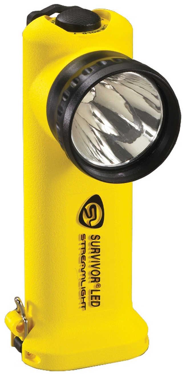 Streamlight Survivor Led Flashlight, Yellow, Fast Charge Dc Md: 90519