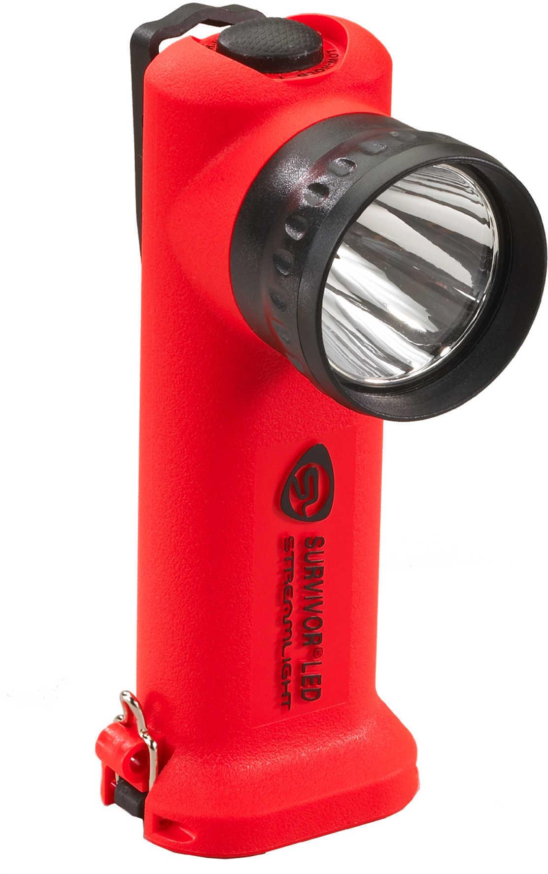 Streamlight Survivor Led Flashlight, Orange, Rechargeable Md: 90500