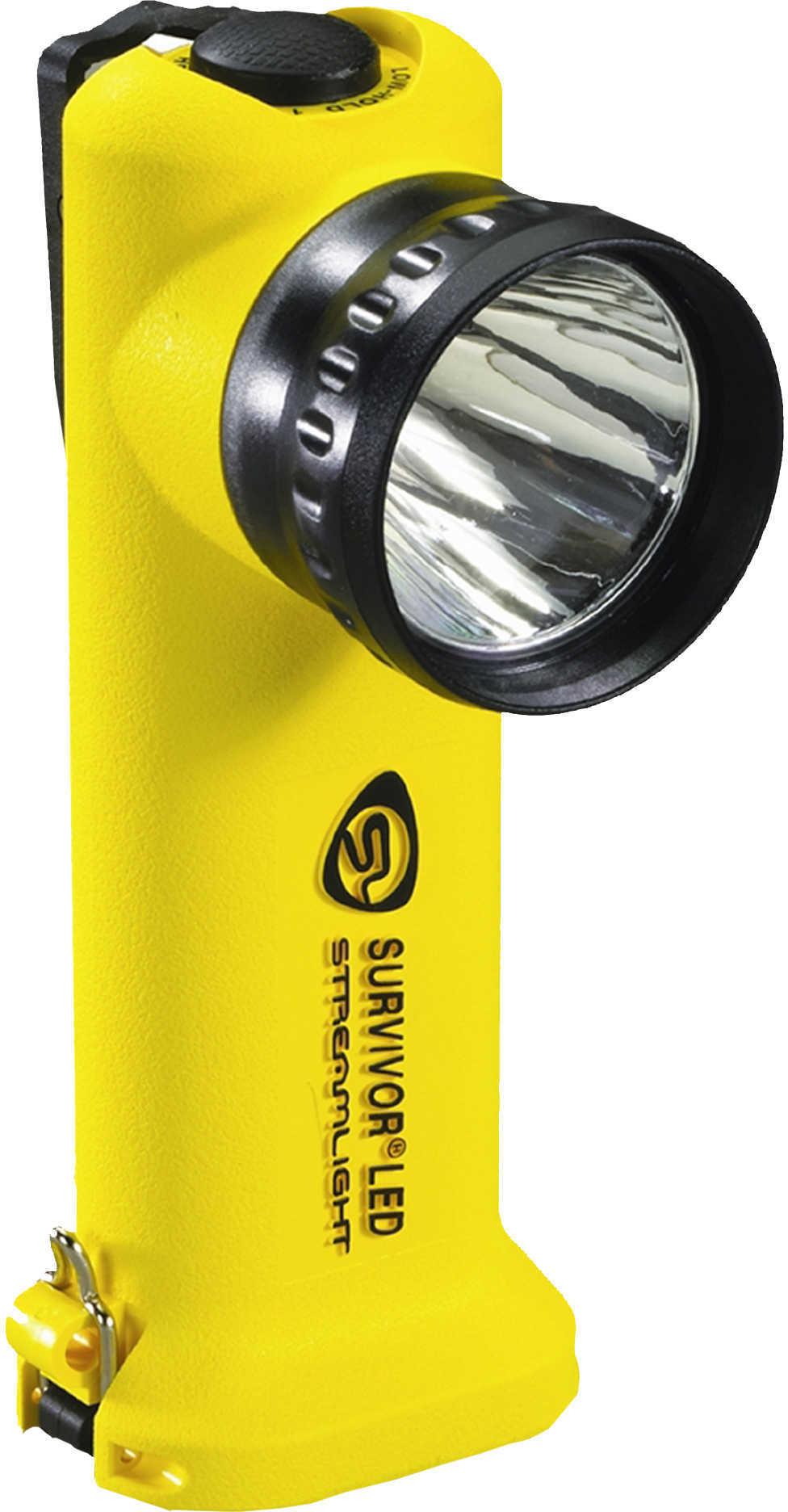 Streamlight Survivor Led Flashlight, Yellow, Battery Powered Md: 90541