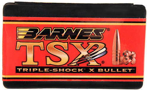 Barnes 22 Caliber 62 Grain Triple Shok X Boat Tail Per 50 Md: 22460 Bullets