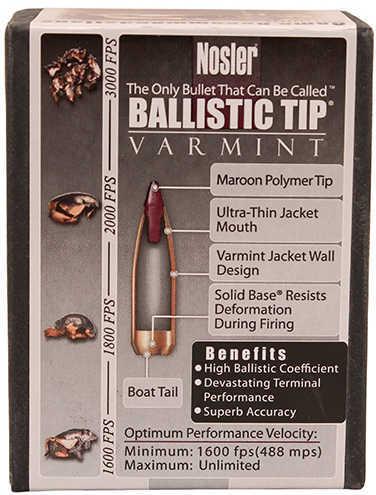 Nosler 20 Caliber 40 grain bullets Md: 52111