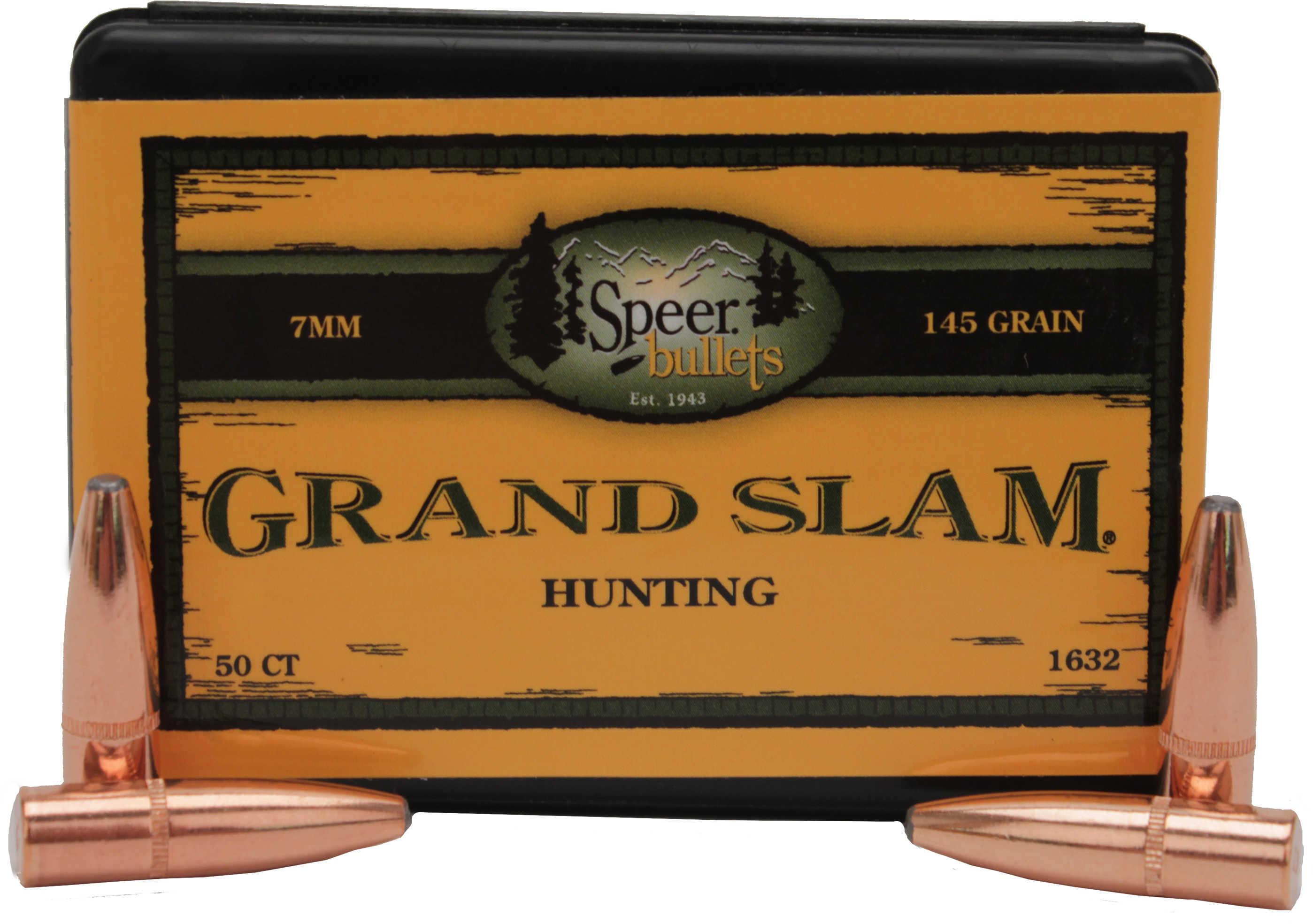 Speer 7mm 145 Grains SP Grand Slam Per 50 Md: 1632 Bullets