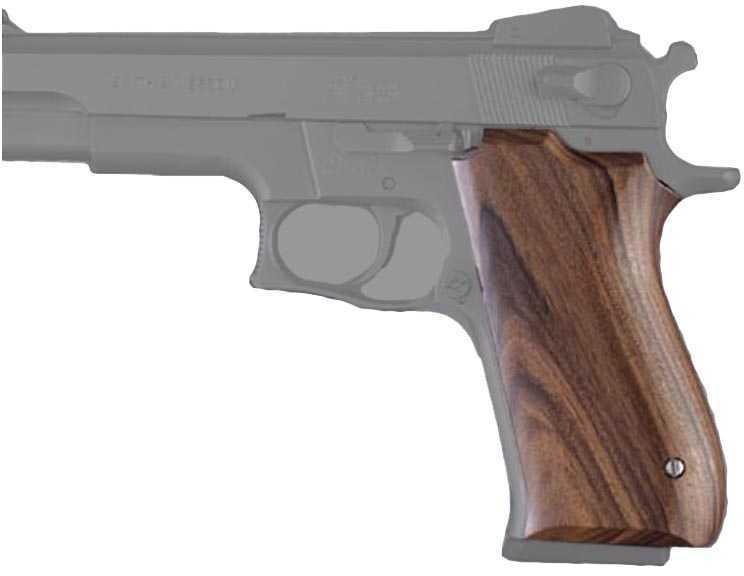 Hogue Wood Grips - Pau Ferro Smith & Wesson Md: 06310