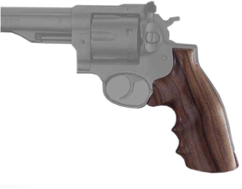 Hogue Wood Grips - Pau Ferro Ruger® Redhawk Md: 86300
