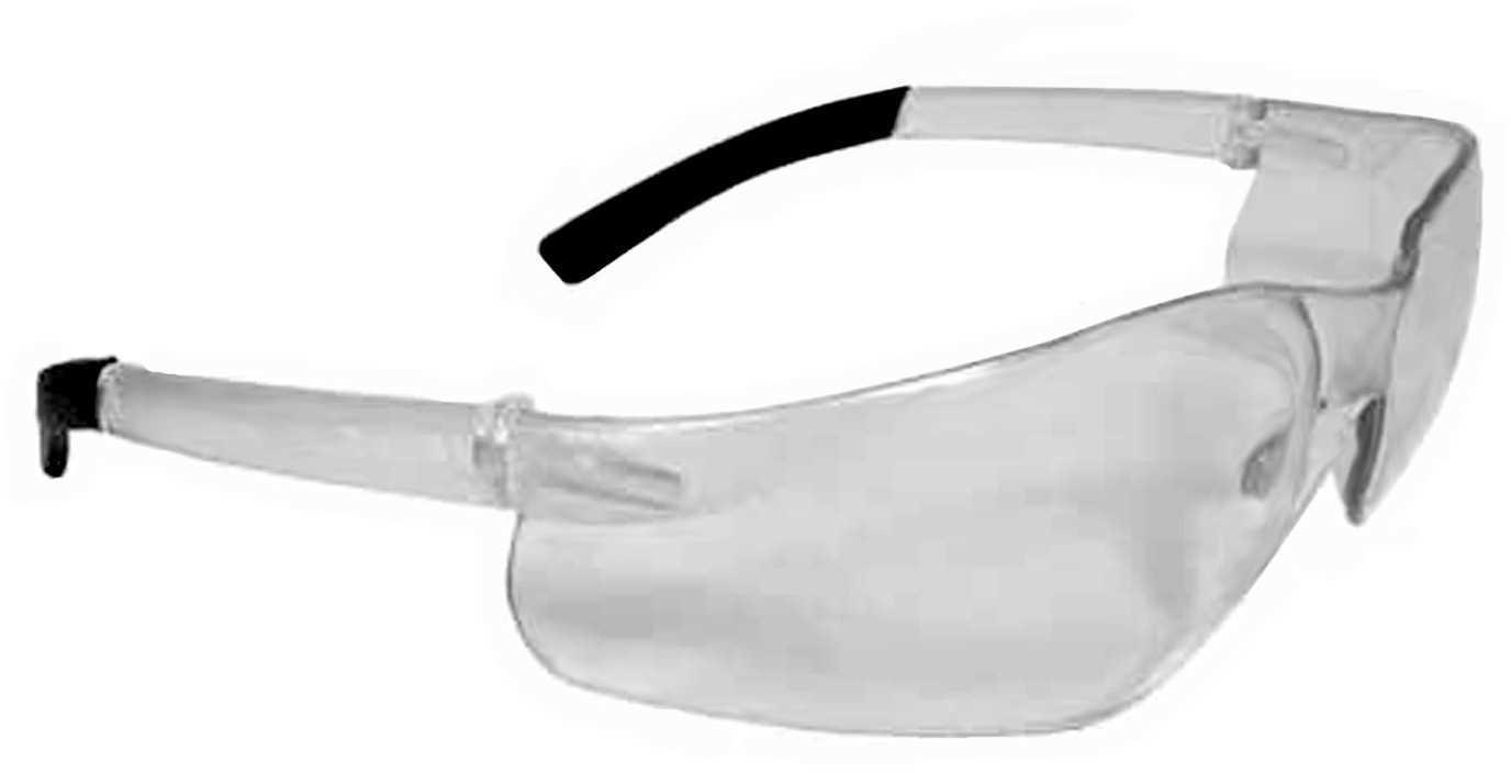 Radians Hunter Glasses Clear Lens, Clear Frame Md: HN0110Cs