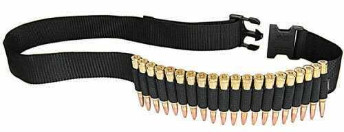 Allen Shell Belt Rifle Shell Belt Holds 20 Cartridges, Black Md: 212