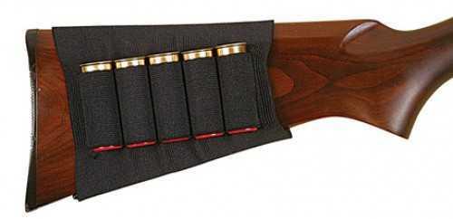 Allen Buttstock Holder Buttstock Shotgun Holder Holds 5 Shells, Black Md: 205