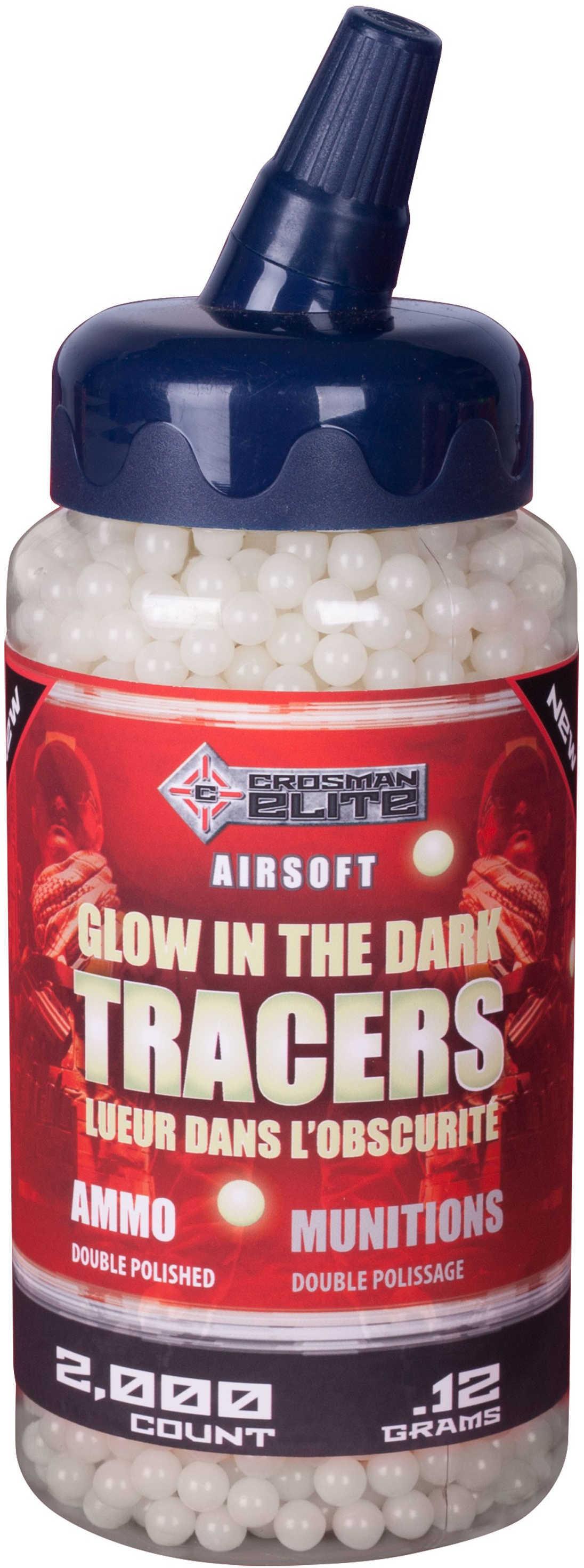 Crossman Soft Air, Ammunition .12Gram, Glow In The Dark, 2000 Count Md: Sap2KGLW