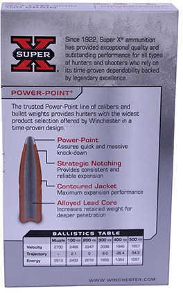 30-06 Springfield By Winchester 30-06 Spr 180Grain Super-X Power-Point Per 20 Ammunition Md: X30064