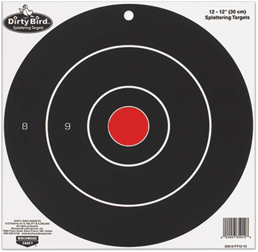 "Birchwood Casey Dirty Bird Paper Targets 17.25"" Round Splattering Target Md: 35185"