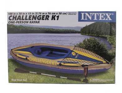 IntexChallenger Kayak Kit K1 Md: 68305EP