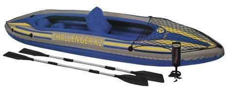 IntexChallenger Kayak Kit K2 Kayak Kit, GearNet Md: 68306EP