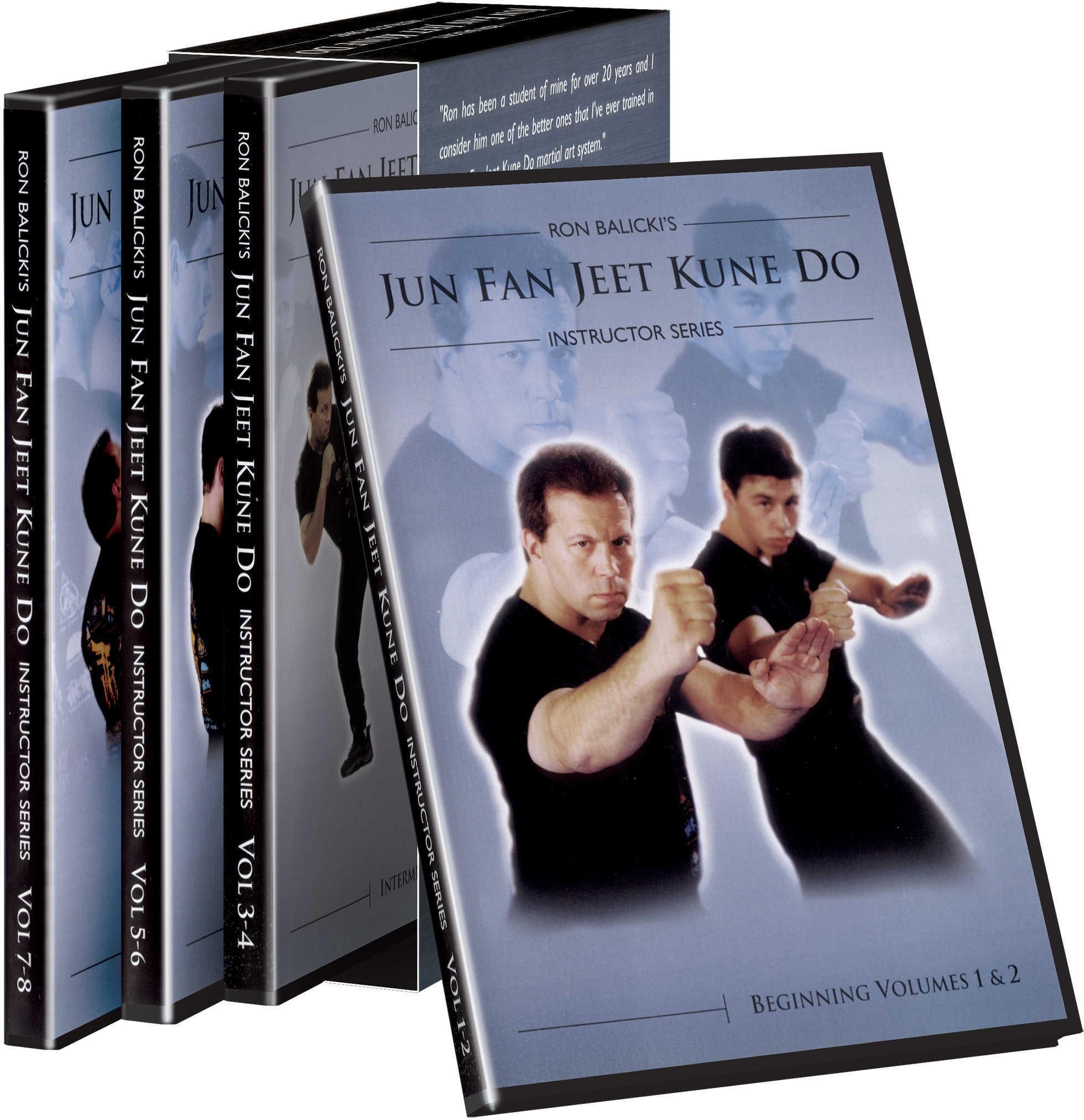 Cold Steel Training DVD Ron Balicki's Jun Fan Jeet Kune Do Md: VDJKD