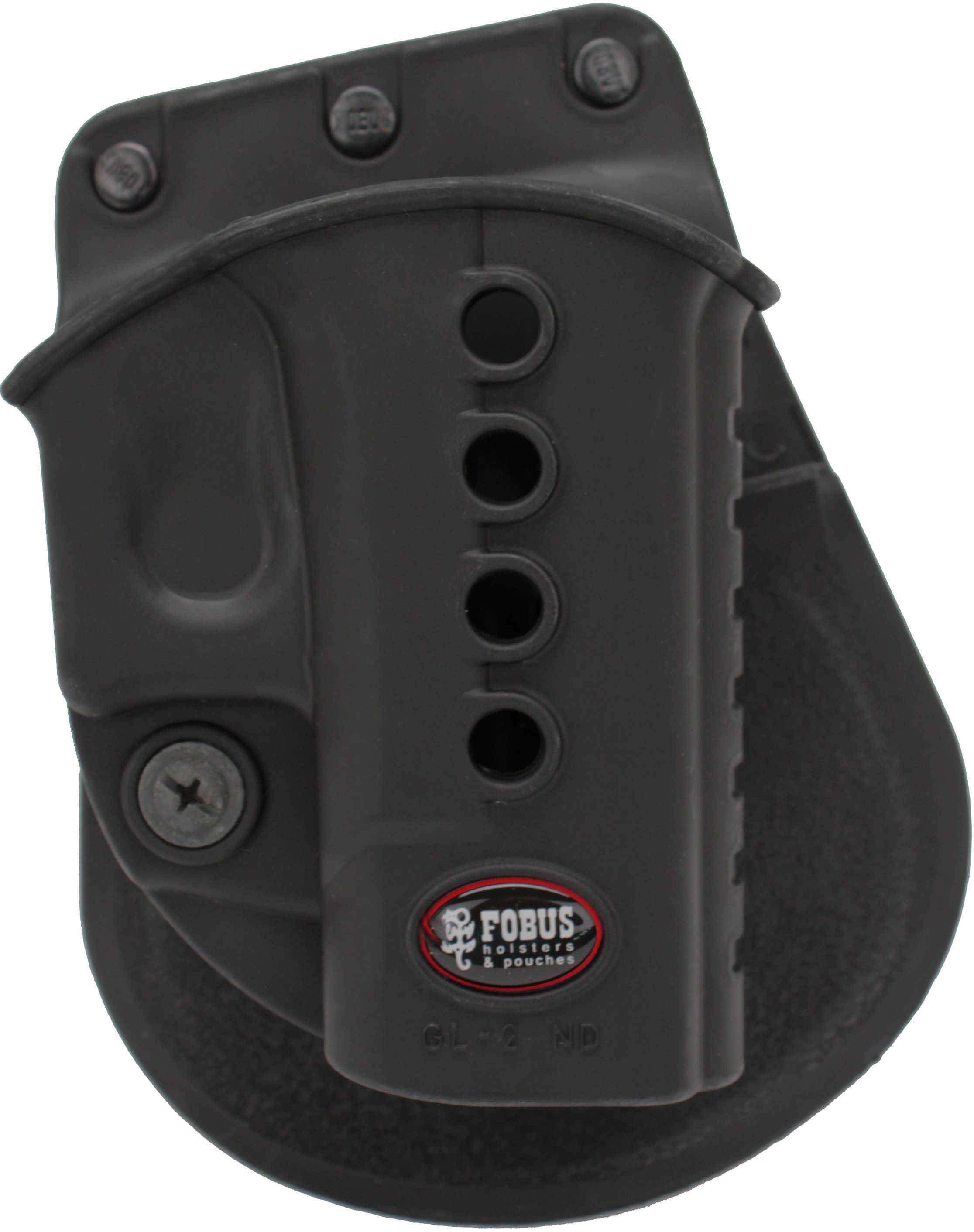 Fobus E2 Evolution Paddle Holster for Glock 17, 19, 22, 23, 26, 27, 33, 34, 35 Md: GL2E2